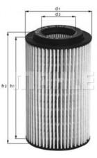 Масляный фильтр OX153D1 Knecht (Mahle Filter)