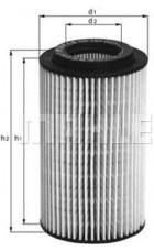 Масляный фильтр OX153D2 Knecht (Mahle Filter)