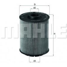 Масляный фильтр OX160D Knecht (Mahle Filter)