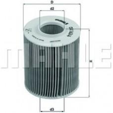 Масляный фильтр OX163/4D Knecht (Mahle Filter)