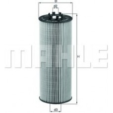 Масляный фильтр OX164D Knecht (Mahle Filter)