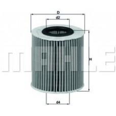 Масляный фильтр OX166/1D Knecht (Mahle Filter)