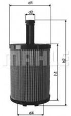 Масляный фильтр OX258D Knecht (Mahle Filter)