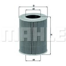 Масляный фильтр OX369D Knecht (Mahle Filter)