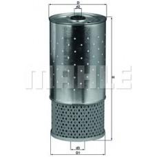 Масляный фильтр OX78D Knecht (Mahle Filter)