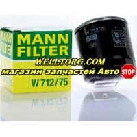 Масляный фильтр W712/75 Mann Filter