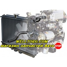 Радиатор охлаждения двигателя 509652 NRF