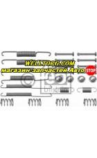 Ремкомплект задних тормозных колодок 02060 Febi