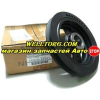 Шкив коленвала 12303-AD201 Original Nissan
