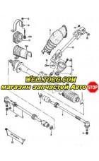 Рулевой карданчик 1144900200 JP Group